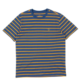 Brixton Hilt Shield Knit T-Shirt - Joe Blue
