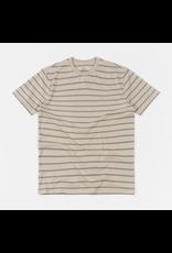 Brixton Hilt Shield Knit T-Shirt - Vanilla