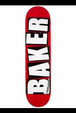 """Baker Brand Logo White Deck - 8.25"""""""