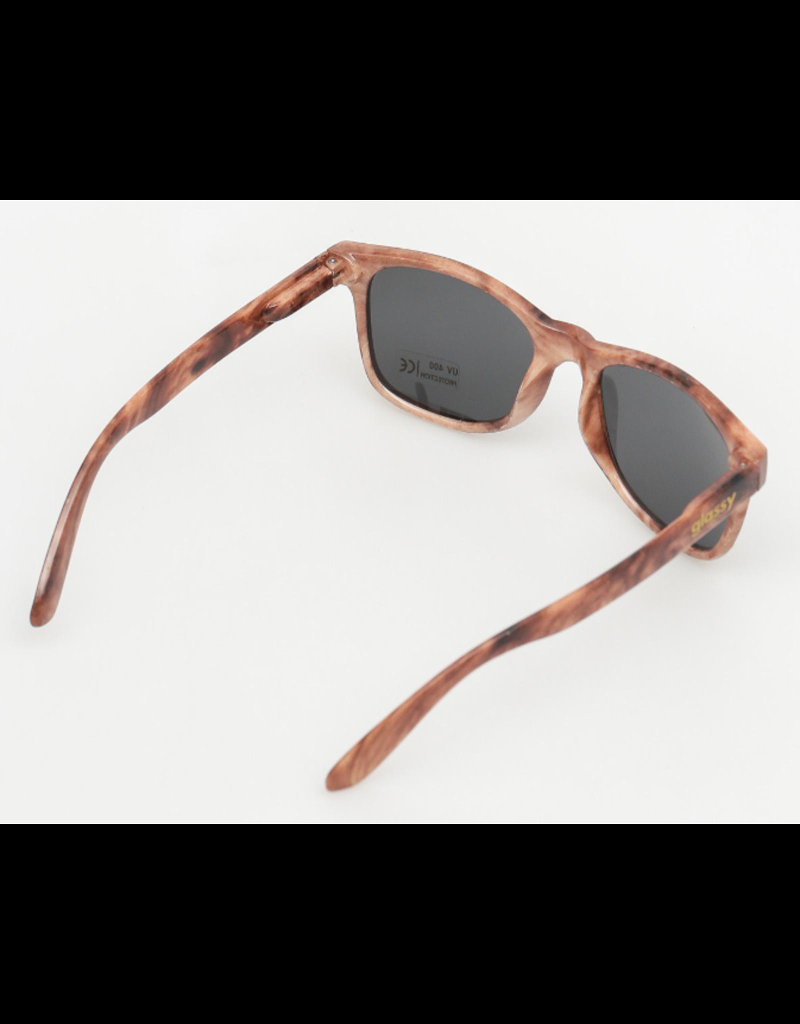 Glassy Leonard Shades - Wood