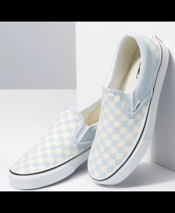 Classic Slip-On - Ballad Blue Checkerboard