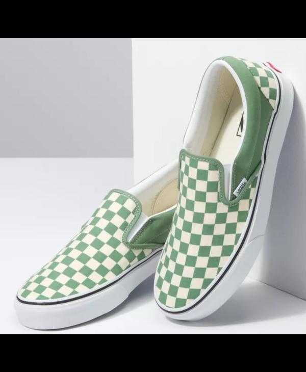 Classic Slip-On - Shale Checkerboard
