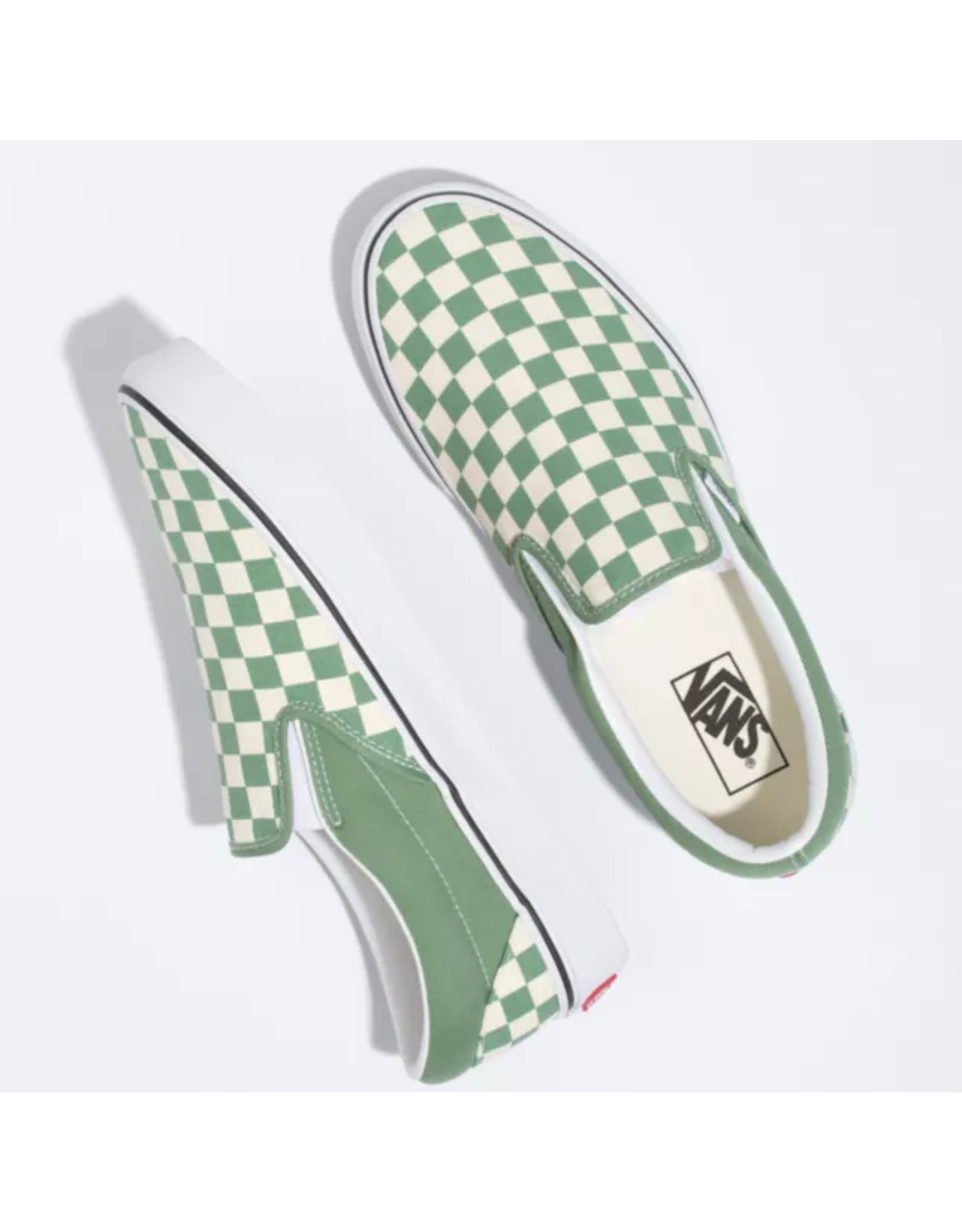 Vans Classic Slip-On - Shale Checkerboard