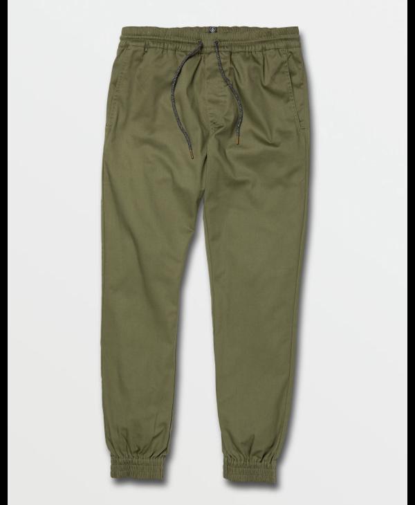 Frickin Slim Jogger Pants - Army Green Combo
