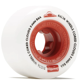 Ricta Cored Clouds 86A Red - 54mm
