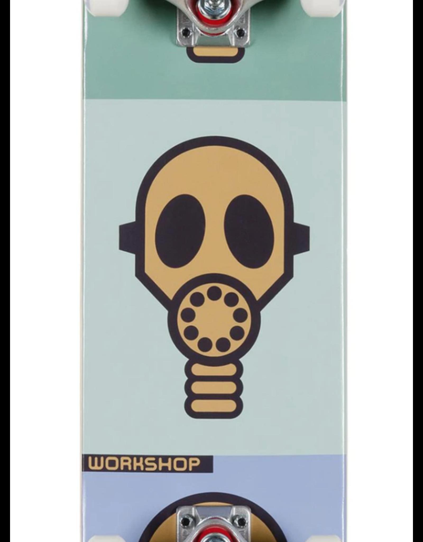 """Alien Workshop Gas Mask Pastel Complete - 7.75"""""""