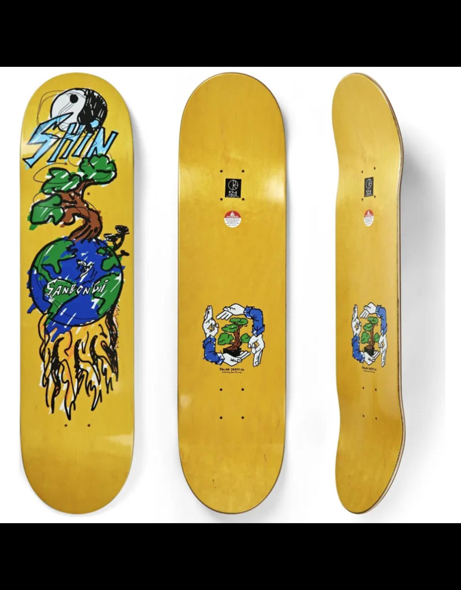 """Polar Shin Sanbongi """"Bonzai Ride"""" Deck - 8.5"""""""