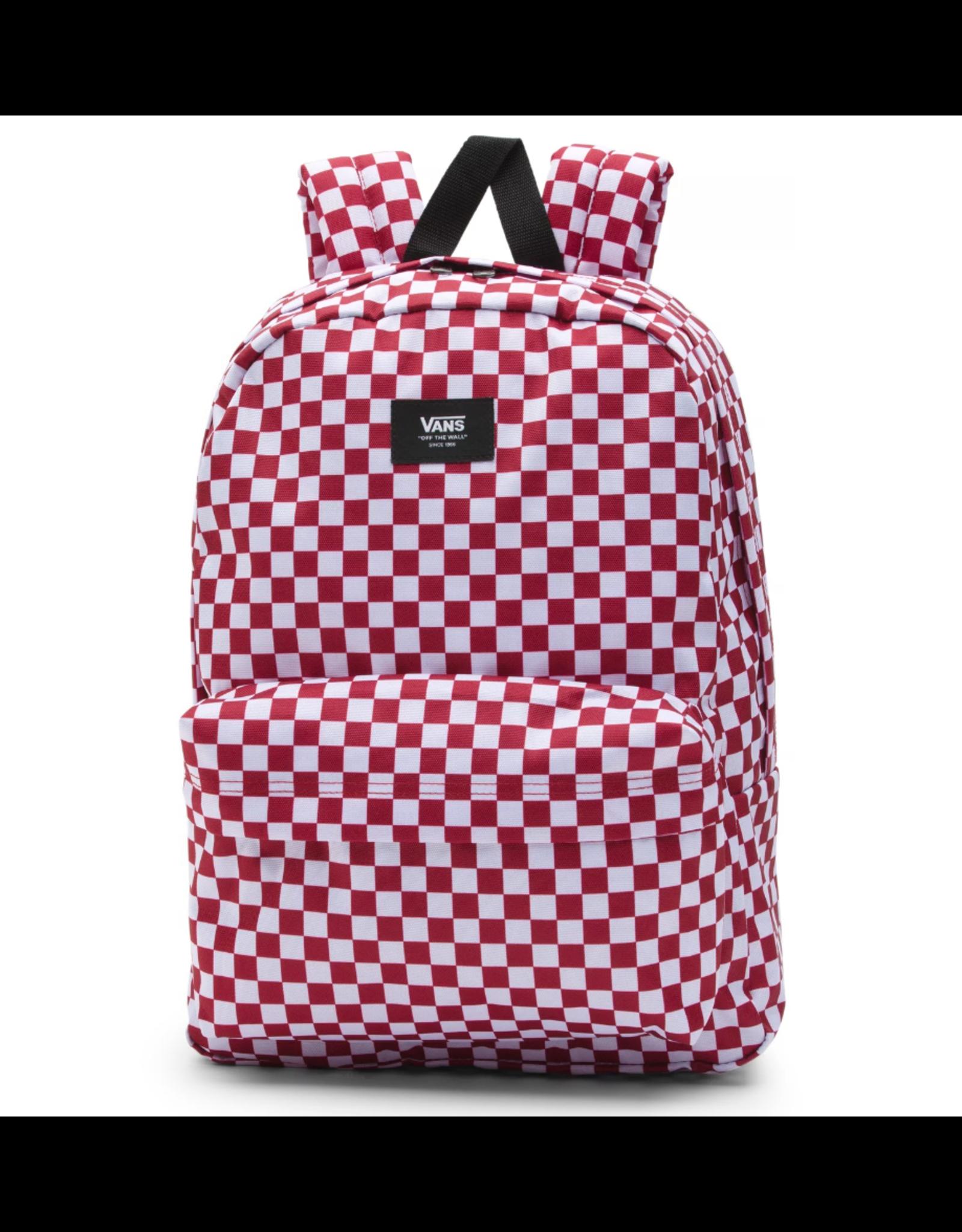Vans Old Skool III Backpack - Red/Check