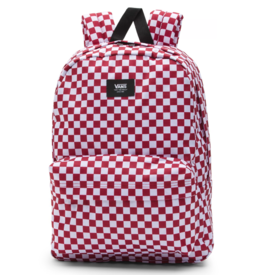 Vans Old Skool III Backpack - Red/Check