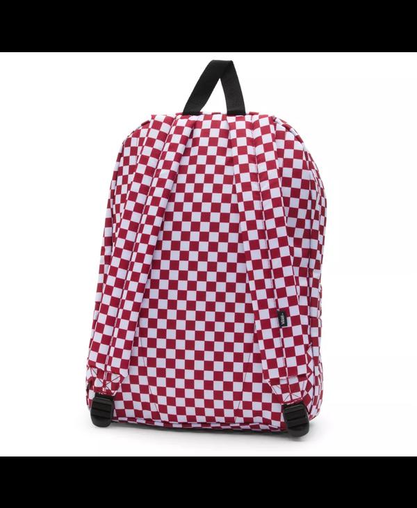 Old Skool III Backpack - Red/Check