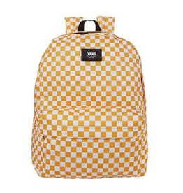 Vans Old Skool III Backpack - Saffron/Check