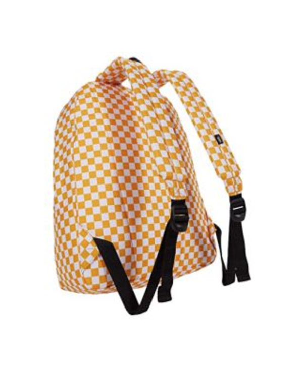 Old Skool III Backpack - Saffron/Check