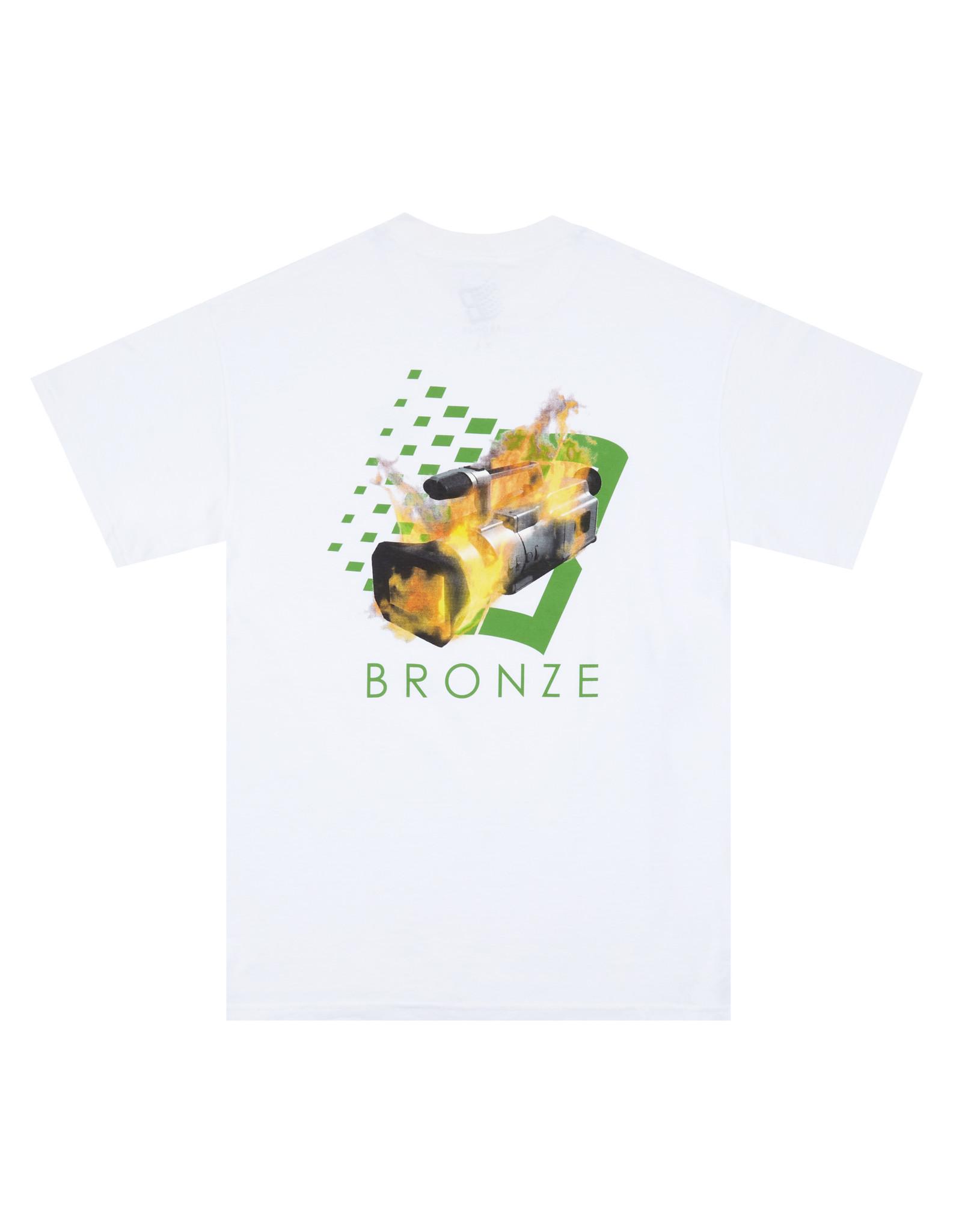 Bronze56K VX B Logo Tee - White