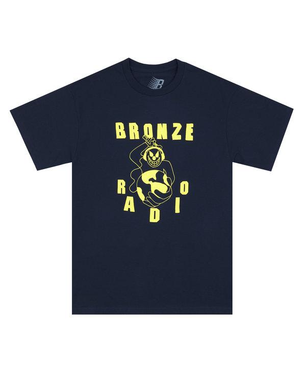 Bronze FM Tee - Navy