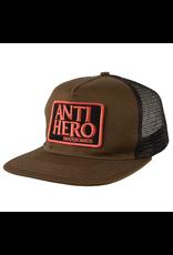 AntiHero Reserve Patch Snapback - Olive/Black