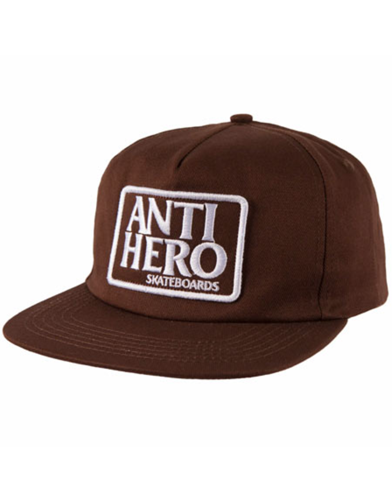 AntiHero Reserve Patch Snapback - Brown/White