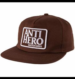AntiHero Reserve Patch Snapback - Brown/White