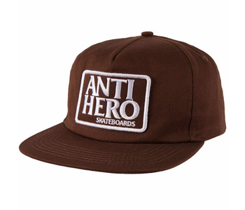 Reserve Patch Snapback - Brown/White