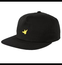 Krooked OG Bird Snapback - Black/Yellow