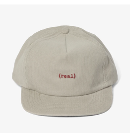 Real Lower Snapback - Grey/Red