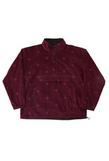 Bronze56K Allover Embroidered Anorak - Maroon