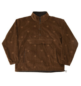 Bronze56K Allover Embroidered Anorak - Brown