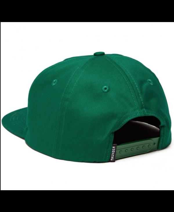 Charged Grenade Snapback - Dark Green
