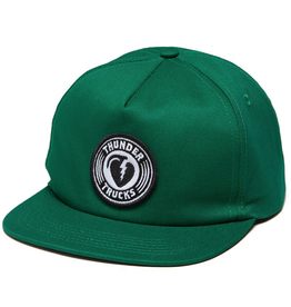 Thunder Charged Grenade Snapback - Dark Green