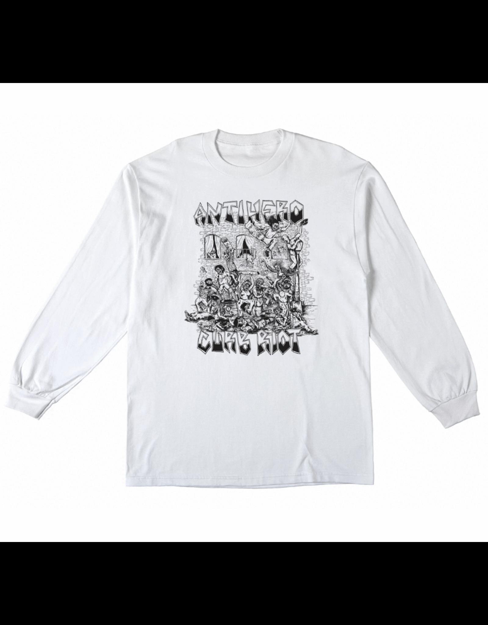 AntiHero Curb Riot Longsleeve - White
