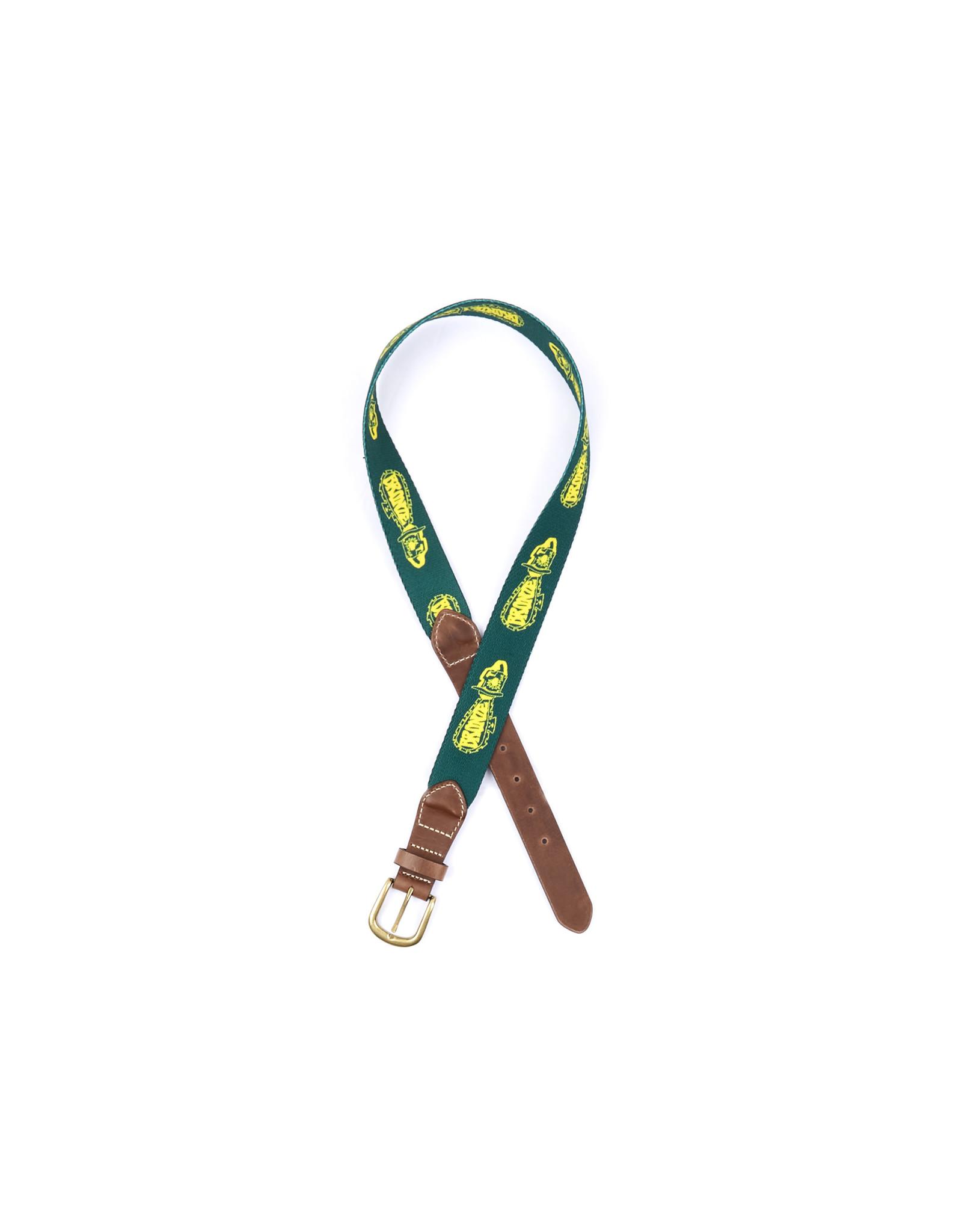Bronze56K Chainsaw Belt - Green