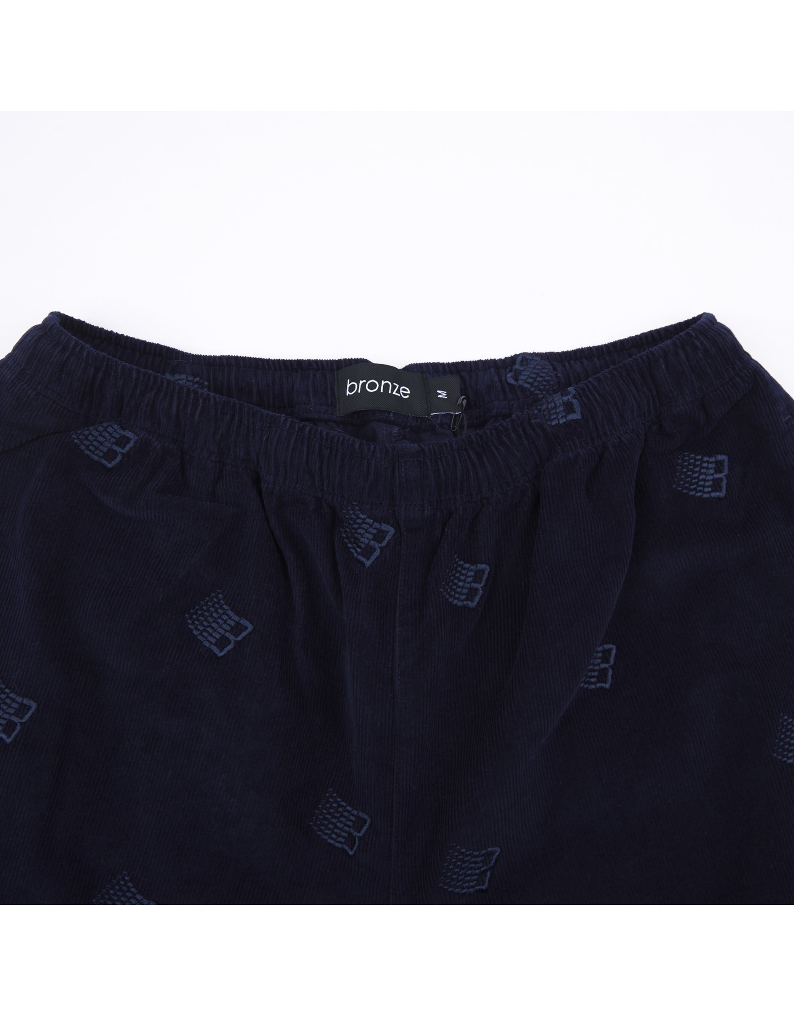 Bronze56K Allover Embroidered Pant - Navy