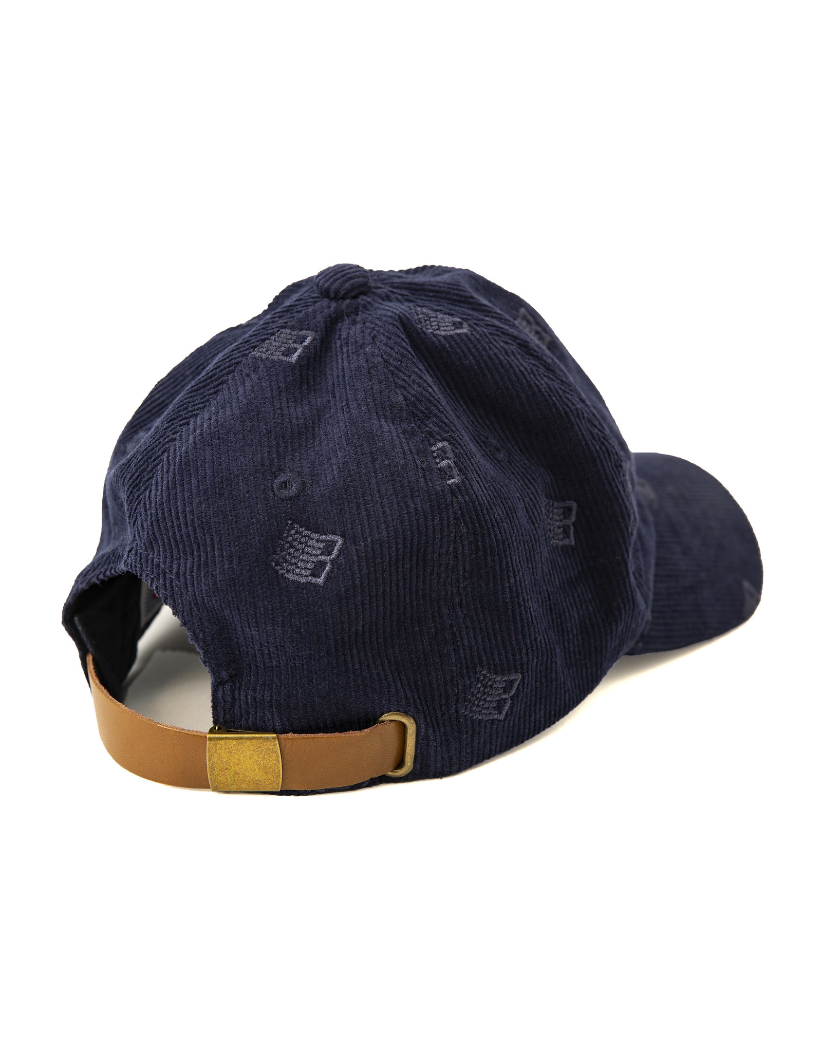 Bronze56K Allover Embroidered Cap - Navy
