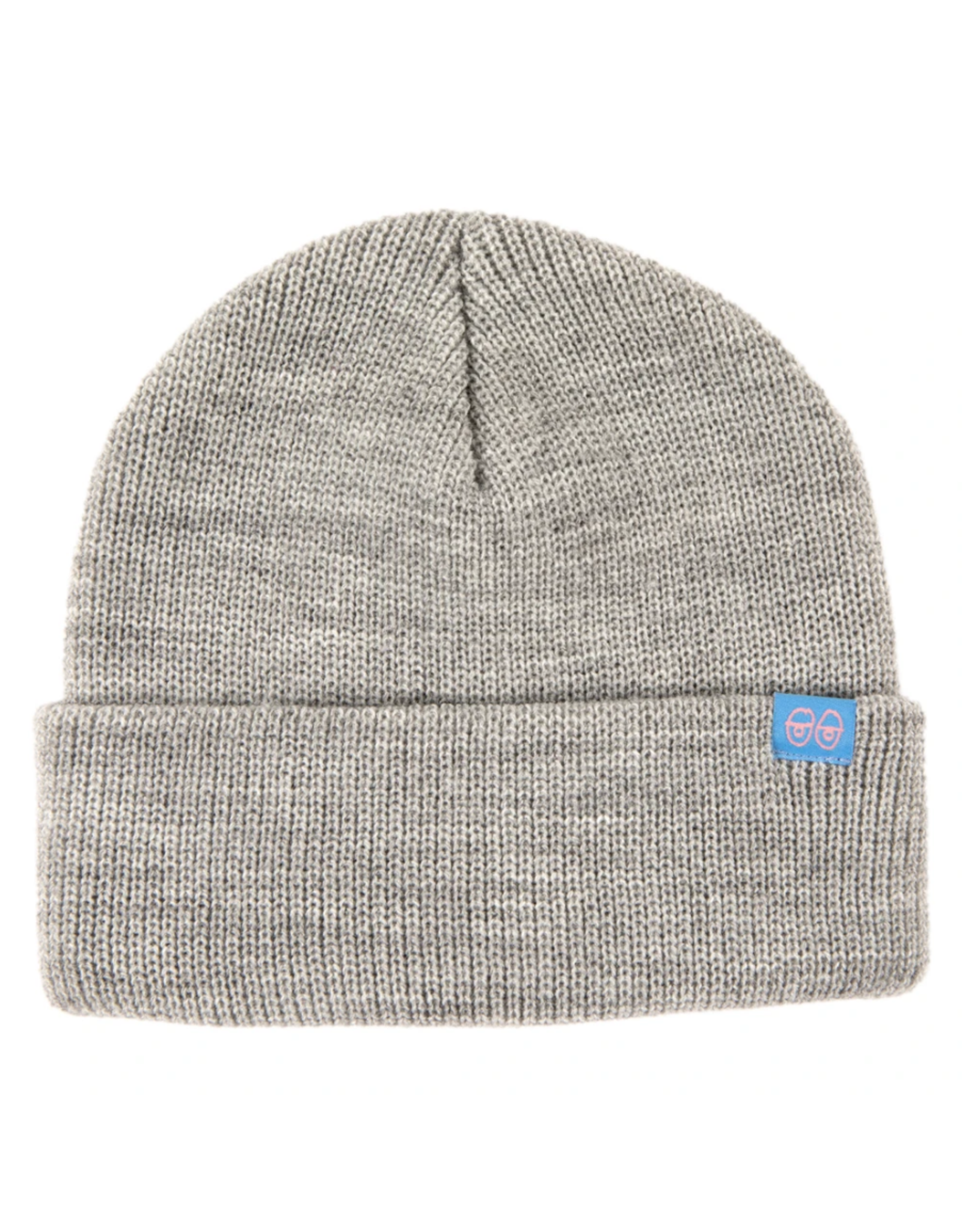 Krooked Eyes Clip Cuff Beanie - Grey