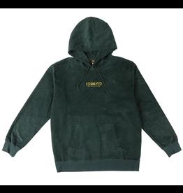 Krooked Eyes Custom Hood Corduroy - Dark Green
