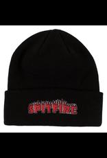 Spitfire Flash Fire Cuff Beanie - Black/Red