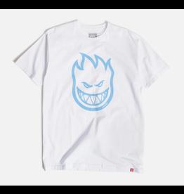 Spitfire Bighead T-shirt - White/Blue