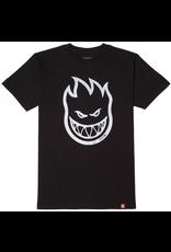 Spitfire Bighead T-Shirt - Black/Silver