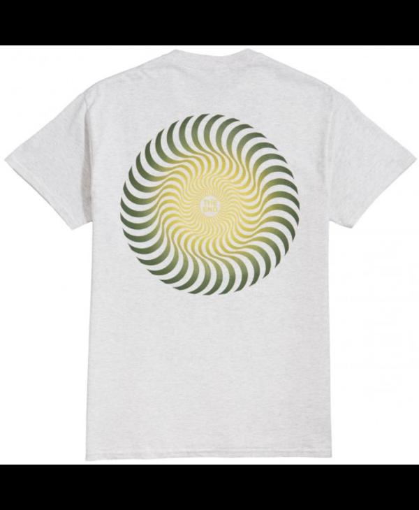 Classic Swirl Fade T-shirt - Ash Grey