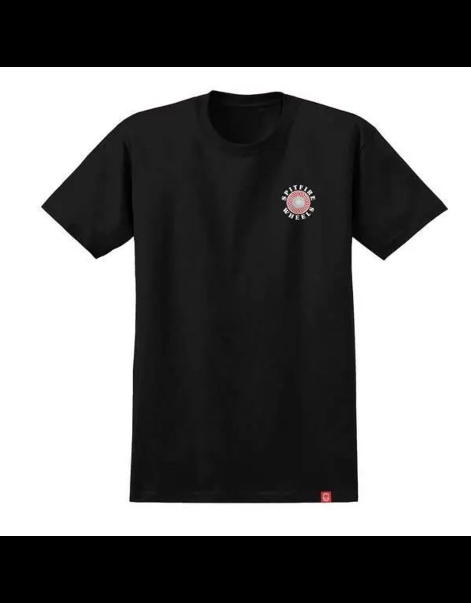 Spitfire OG Classic Fill T-Shirt - Black/Multi