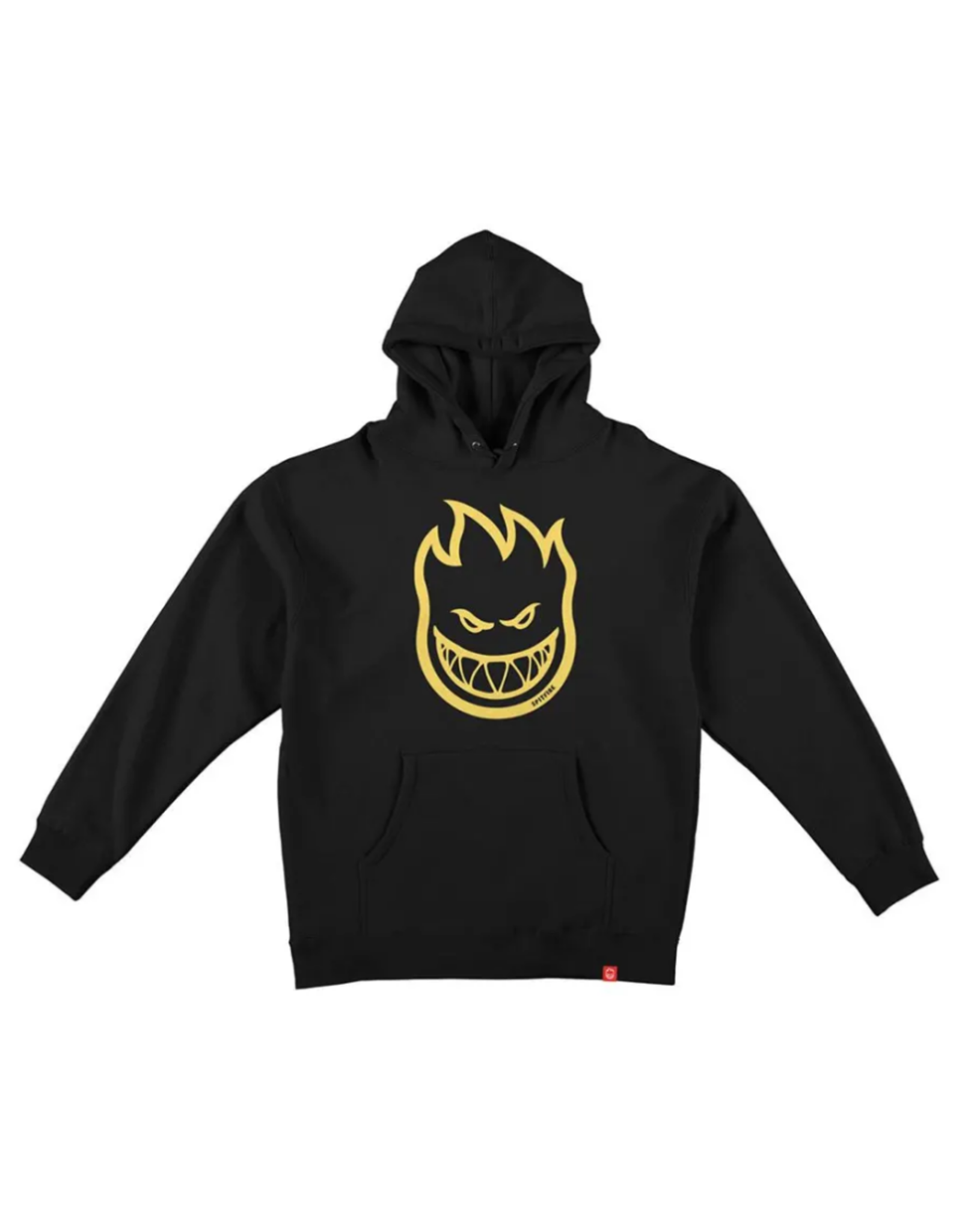 Spitfire Bighead Youth PO Hoddie - Black/Yellow