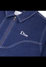 Dime Denim Chore Jacket - Raw Dark Indigo