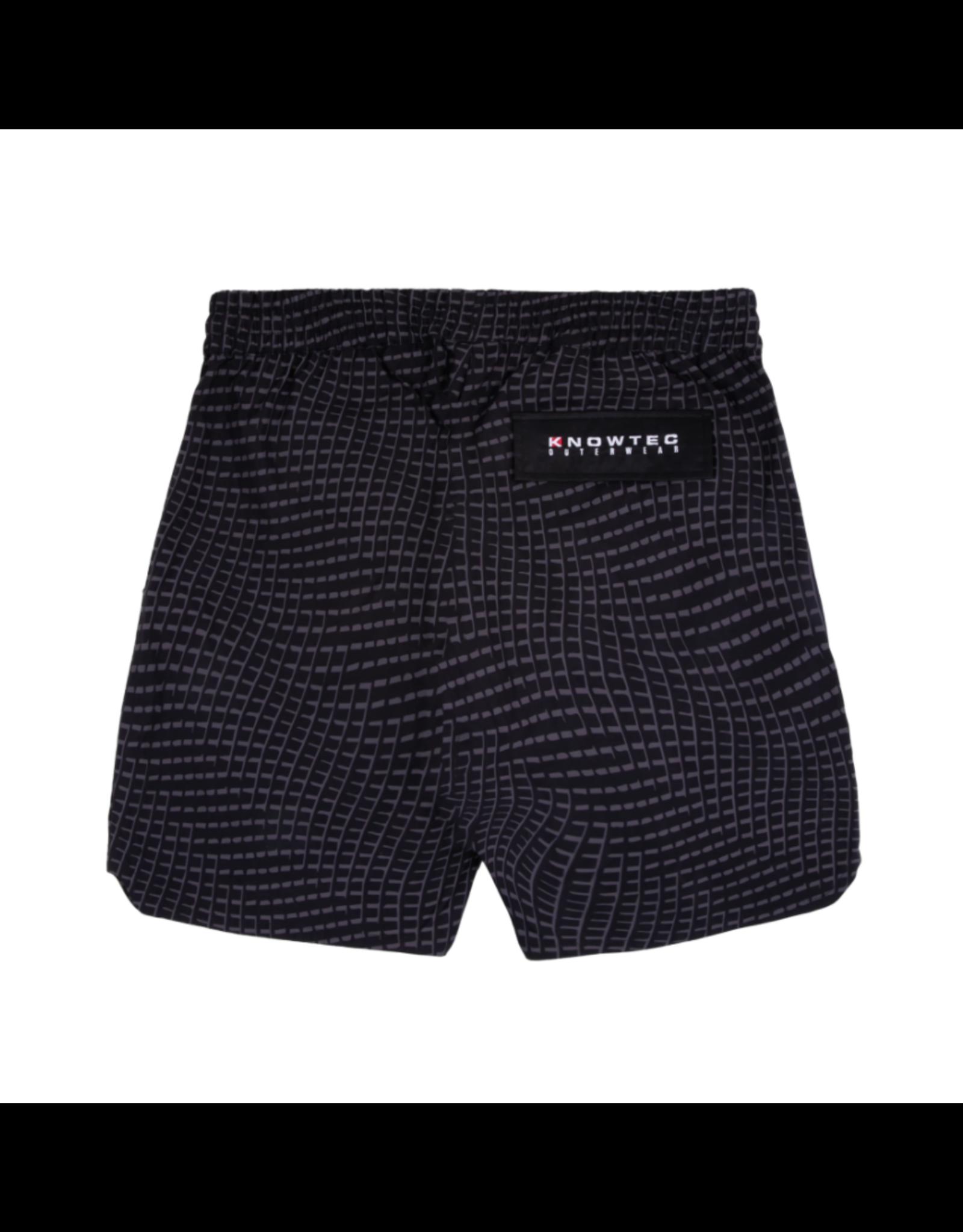 Dime Warp Shell Shorts - Black