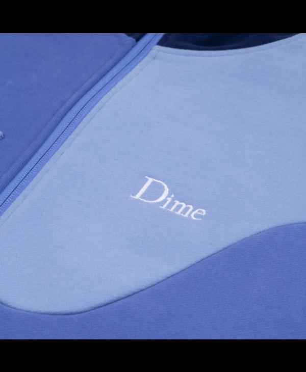 Brushed Cotton Track Jacket - Blue