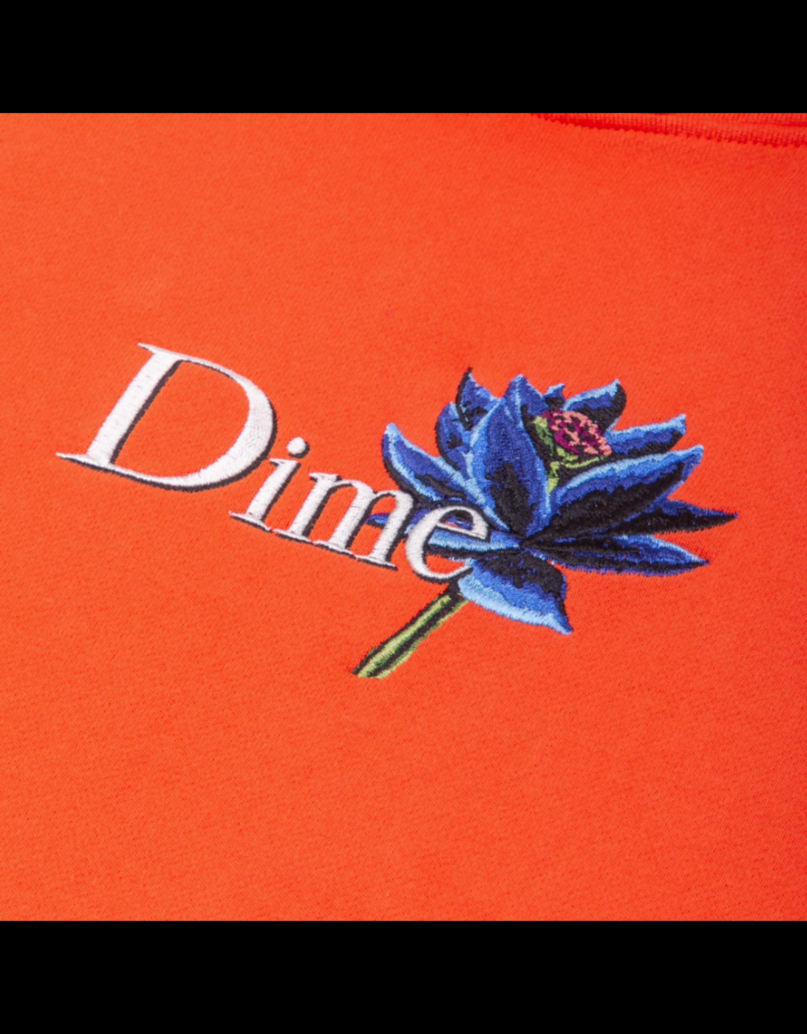 Dime Black Lotus Hoodie - Bright Red