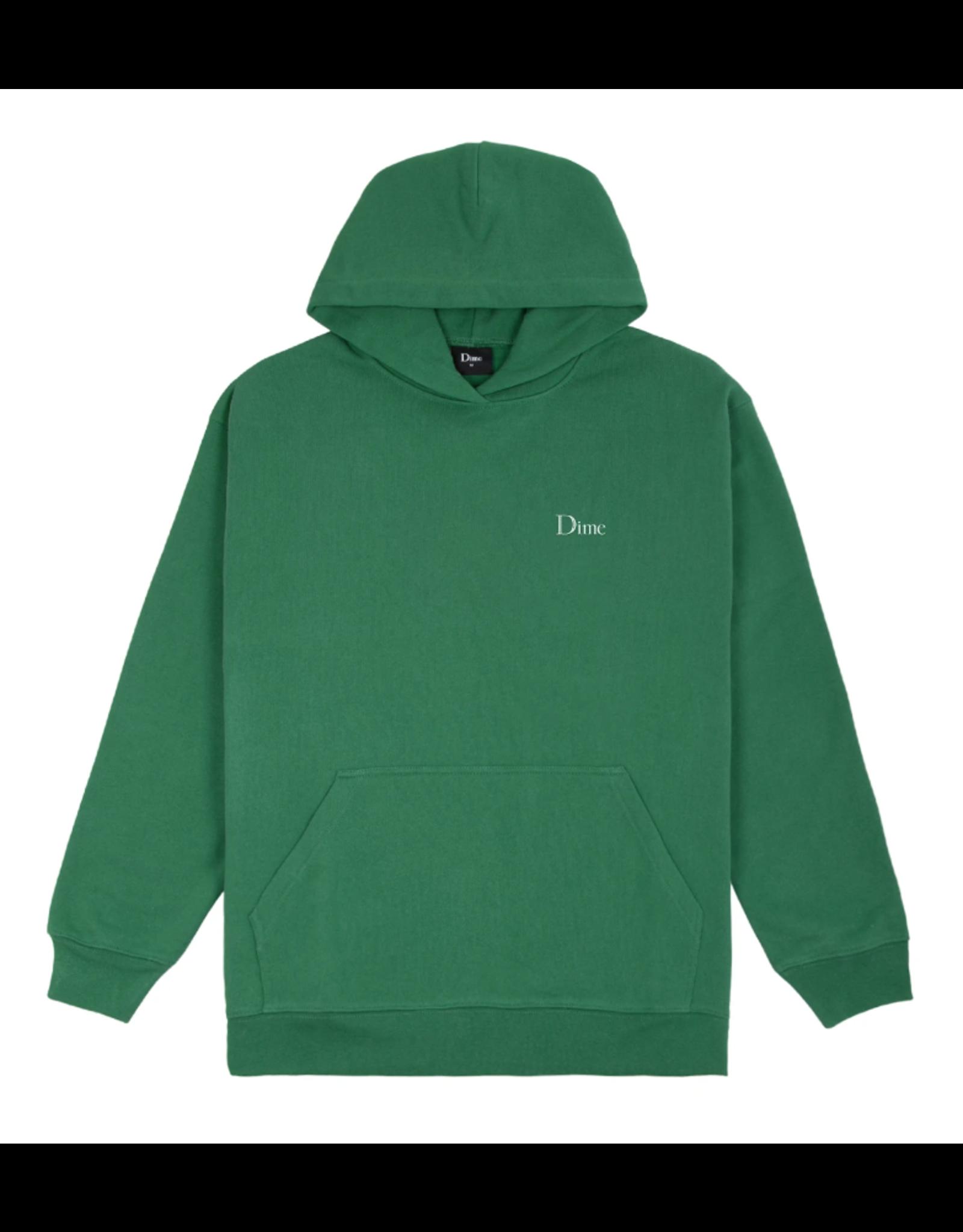 Dime Classic Small Logo Hoodie - Green
