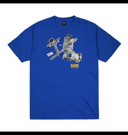 Dime Toolie T-Shirt - Cobalt