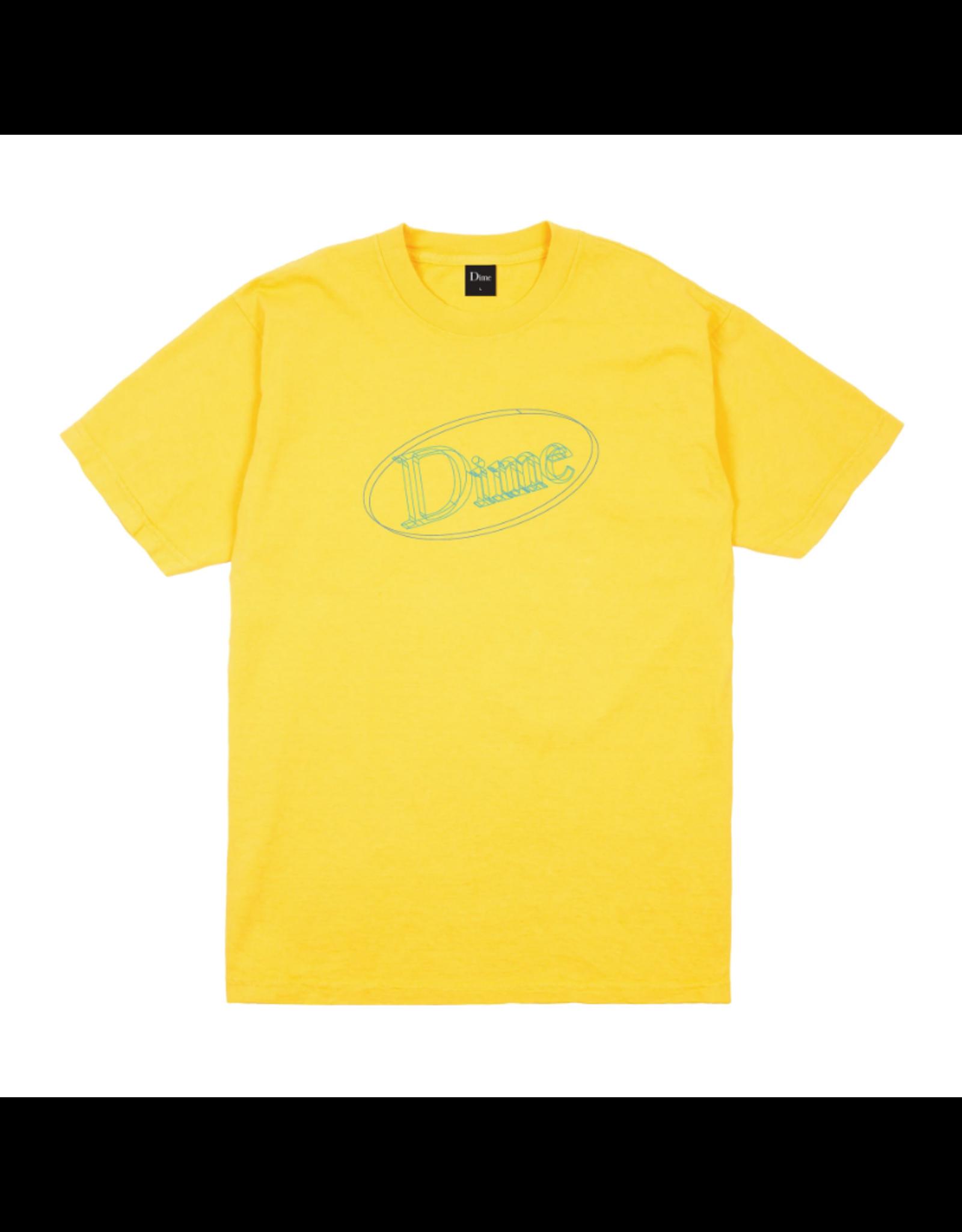 Dime Dimecad T-Shirt - Yellow