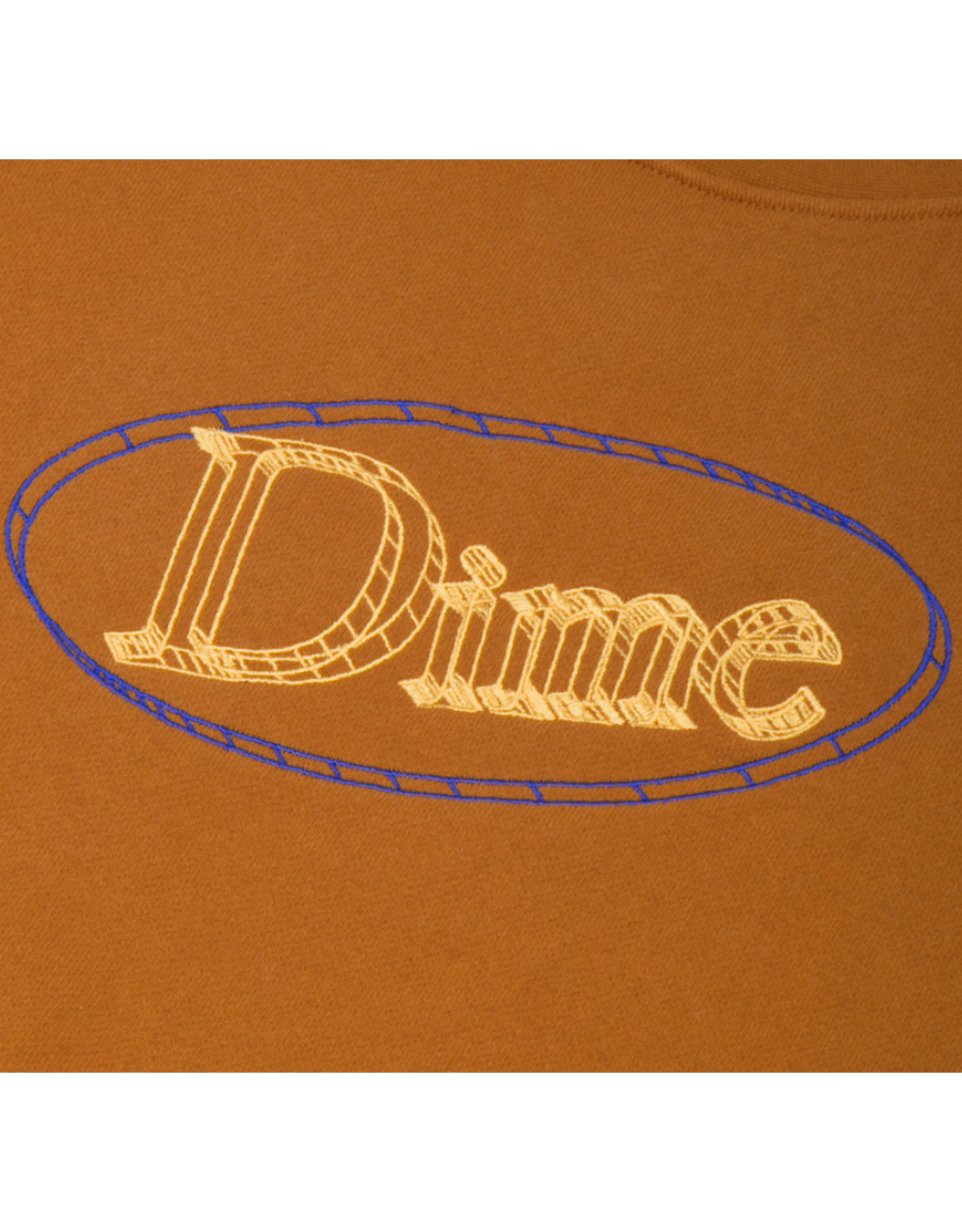 Dime Dimecad Crewneck - Coffee