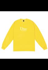 Dime Sous-Vetements L/S - Yellow