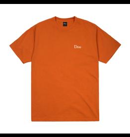 Dime Small Logo T-Shirt - Burnt Orange